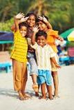 Indiska barn Arkivbilder