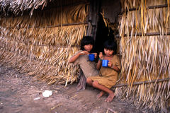 indiska barn arkivfoto