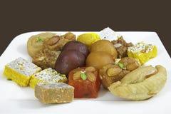 indiska blandade sötsaker Royaltyfri Fotografi