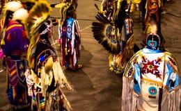 Indiska dansare i rörelse Fotografering för Bildbyråer