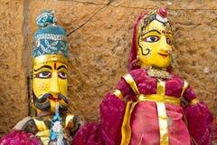indiska dockor Arkivfoton