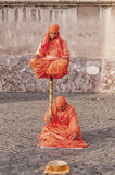 Indiska fakirgataaktörer Royaltyfri Fotografi