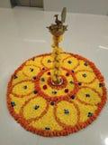 Indiska festivalblommor royaltyfri foto