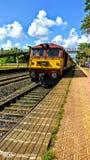 indiska järnvägar arkivbilder