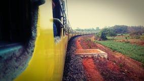 indiska järnvägar Royaltyfri Foto