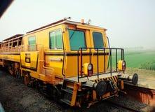 indiska järnvägar Arkivbild