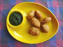 Indiska kokkonst-Mungdalwadas Royaltyfria Foton