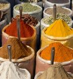 Indiska kryddor Arkivbilder