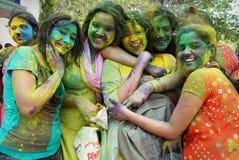 indiska kvinnor Arkivfoton