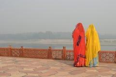 indiska kvinnor Arkivbild