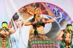 indiska kvinnor Fotografering för Bildbyråer