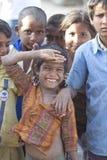 Indiska lantliga barn Royaltyfria Bilder