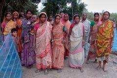 indiska lantliga kvinnor Royaltyfri Foto