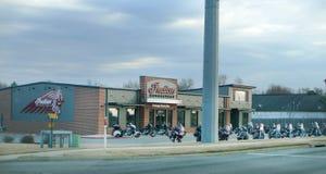 Indiska motorcyklar, indisk motorcykel för arv av nordvästliga Arkansas Arkivfoto