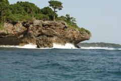 Indiska oceanen Arkivfoto