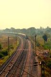 Indiska offentliga järnvägar Royaltyfri Fotografi