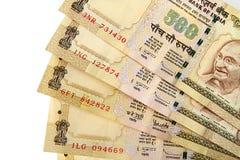 Indiska Rupees Fotografering för Bildbyråer