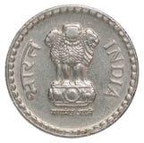 indiska rupees Royaltyfria Foton