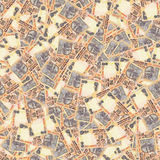 indiska rupees seamless textur Fotografering för Bildbyråer