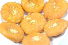 Indiska söta Badusha arkivfoton