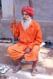 Indiska Sadhu royaltyfri foto