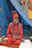 Indiska Sadhu Fotografering för Bildbyråer