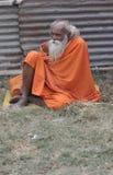 Indiska Sadhu Royaltyfri Bild