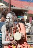 Indiska Sadhu. Arkivfoton