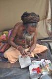 Indiska Sadhu Royaltyfria Foton