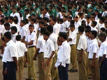 Indiska skolbarn Royaltyfria Foton
