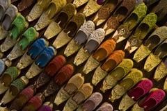 indiska skor Arkivbild