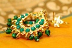 indiska smycken Arkivfoto