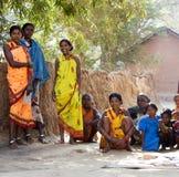 indiska stam- bykvinnor Royaltyfria Bilder