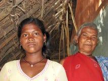 indiska stam- kvinnor Fotografering för Bildbyråer