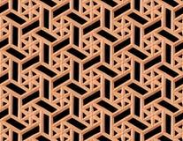 Indiska stencarvings seamless textur Traditionell stam- patt Arkivbilder