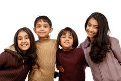 indiska systrar tre för bröder Royaltyfria Bilder