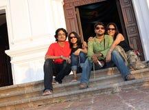 indiska tonåringar Fotografering för Bildbyråer