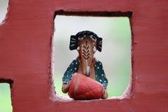 Indiska traditionella hantverk Arkivbild