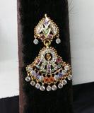 Indiska traditionella smycken Royaltyfri Fotografi