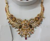 Indiska traditionella smycken Arkivfoto