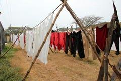 Indiska tvättande Dhobis royaltyfria foton