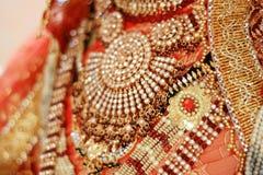 indiska tyger Arkivbilder
