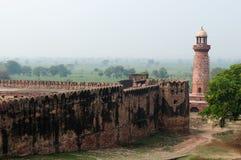 Indiska underbara exempel av arkitektur - Fatehpur Sikri stad Royaltyfria Foton