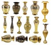 Indiska vaser arkivfoton