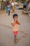 Indiskt barn Arkivfoto