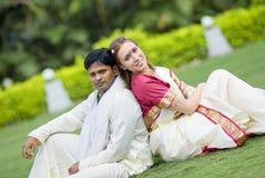 indiskt bröllop Royaltyfria Bilder