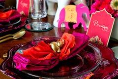 indiskt bröllop Royaltyfri Fotografi