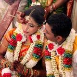 Indiskt bröllop Arkivbilder