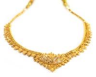 Indiskt brud- halsband Arkivfoton