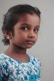 Indiskt flickabarn Arkivbilder